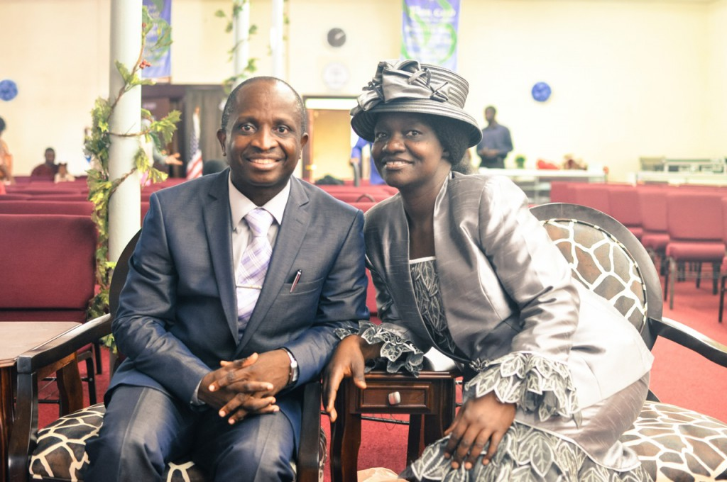 Rev Dr. Lawrence Lasisi and Pastor Mrs Grace Lasisi