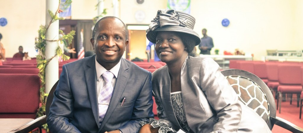 Rev Dr. Lawrence Lasisi and Pastor Mrs. Grace Lasisi